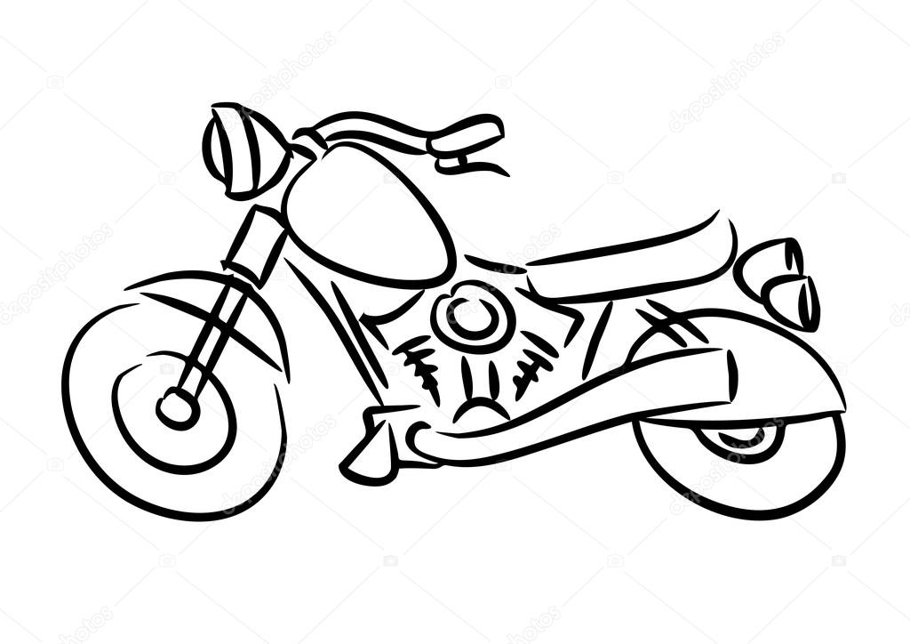 motorbike pitchers free printable motorcycle coloring pages for kids motorbike pitchers 1 1