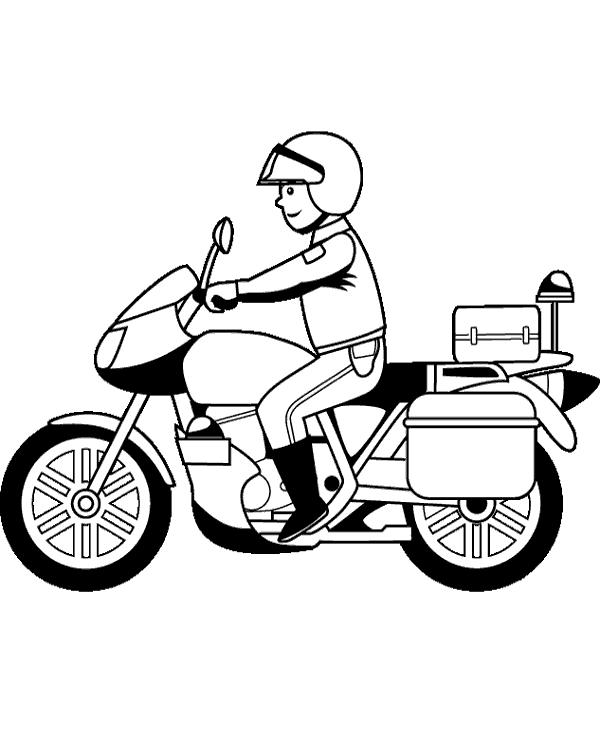 motorbike pitchers motorcycle drawing for kids at getdrawings free download motorbike pitchers