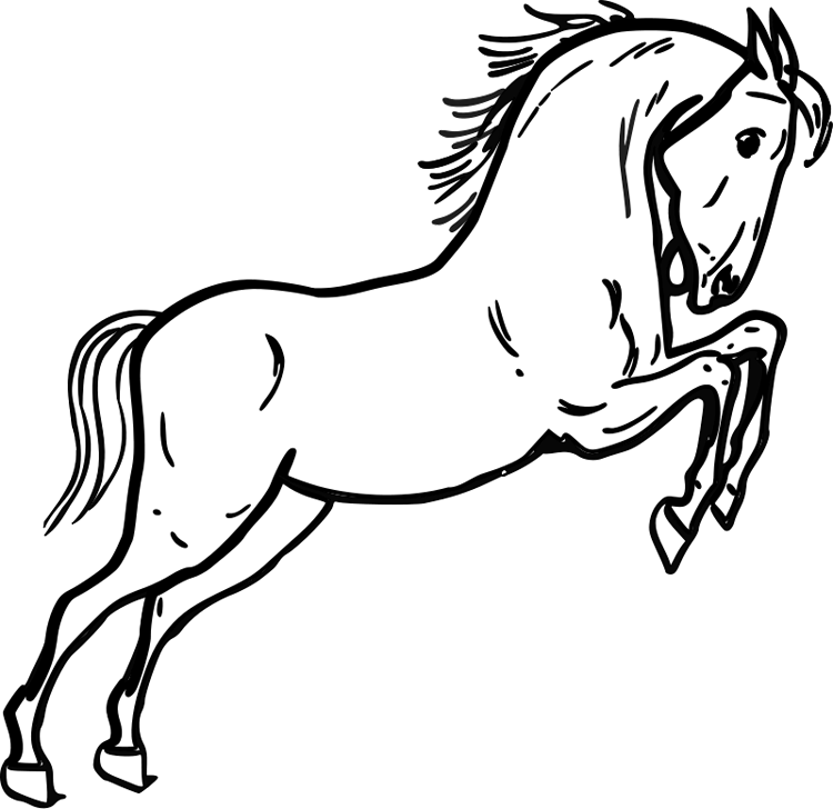 mustang horse coloring pages free how to draw a mustang horse download free clip art coloring pages horse mustang