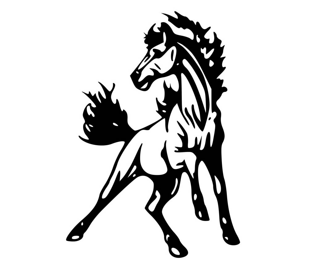mustang horse coloring pages mustang horse coloring pages coloring pages to coloring mustang horse pages