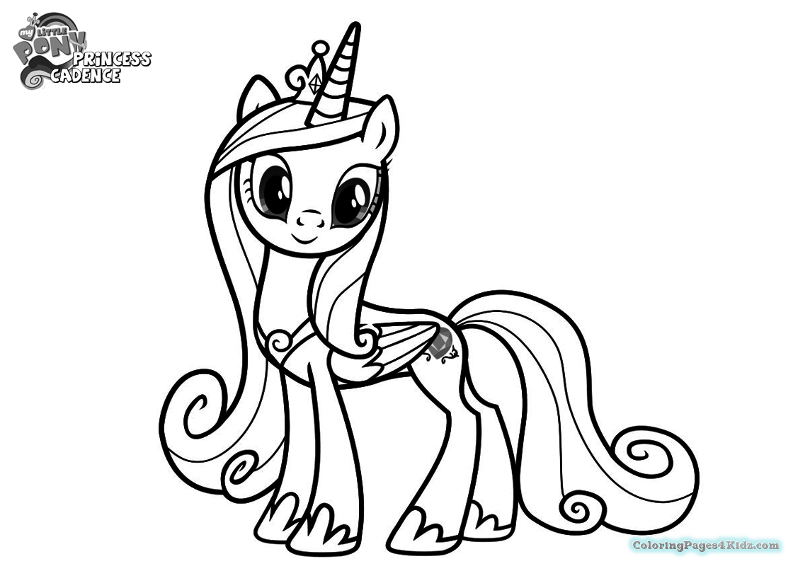 my little pony coloring pages princess cadence my little pony princess cadence coloring page get my cadence pages little coloring pony princess