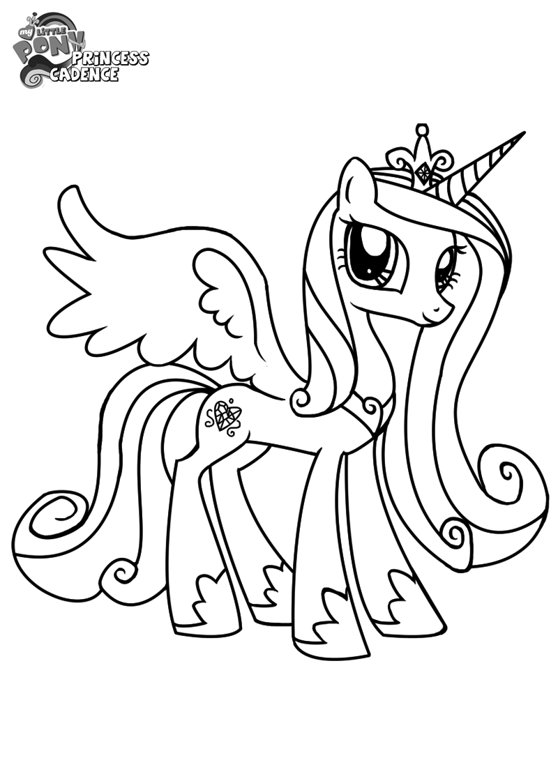 my little pony coloring pages princess cadence princess cadence coloring pages coloring home my pages princess little coloring cadence pony