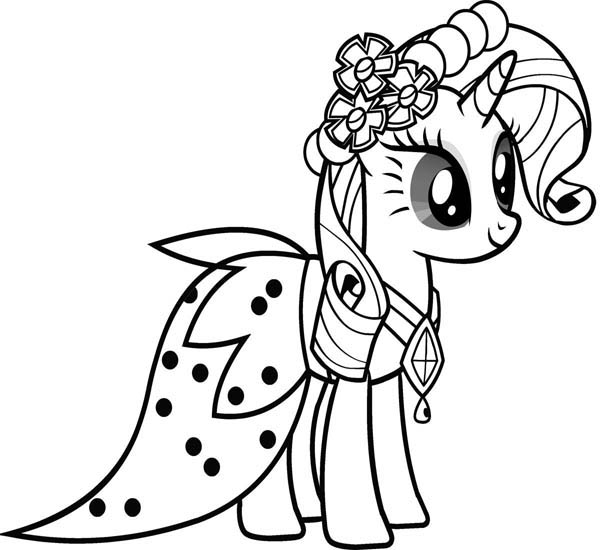 my little pony friendship is magic coloring page beautiful rarity friendship is magic in my little pony page coloring friendship my is little magic pony