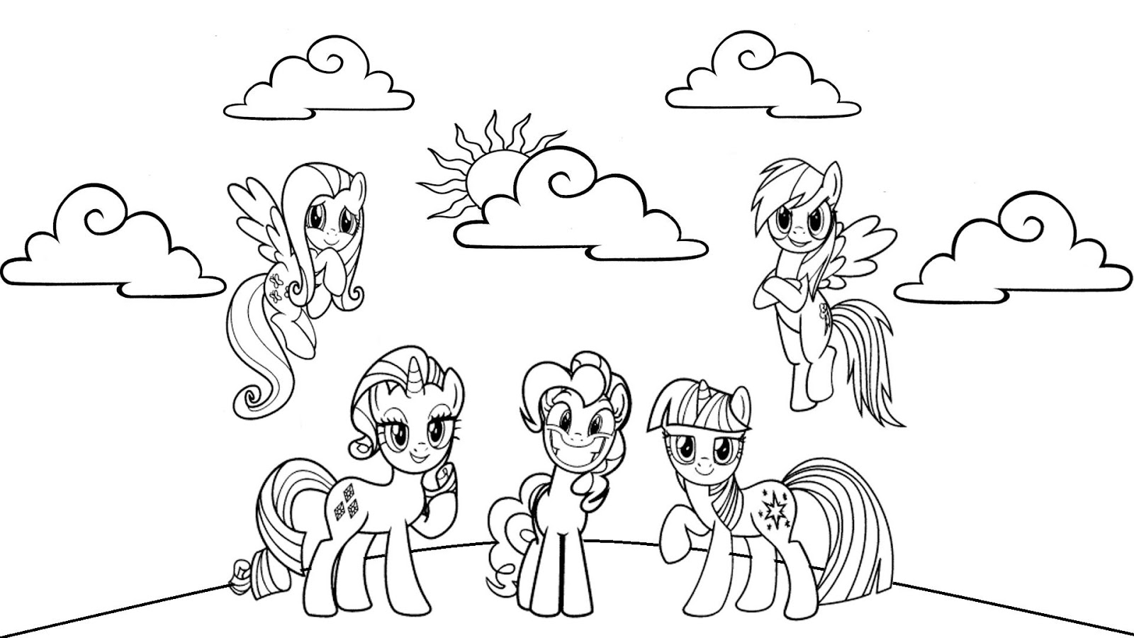 my little pony friendship is magic colouring pages my little pony friendship is magic coloring pages at colouring little pages my pony is friendship magic