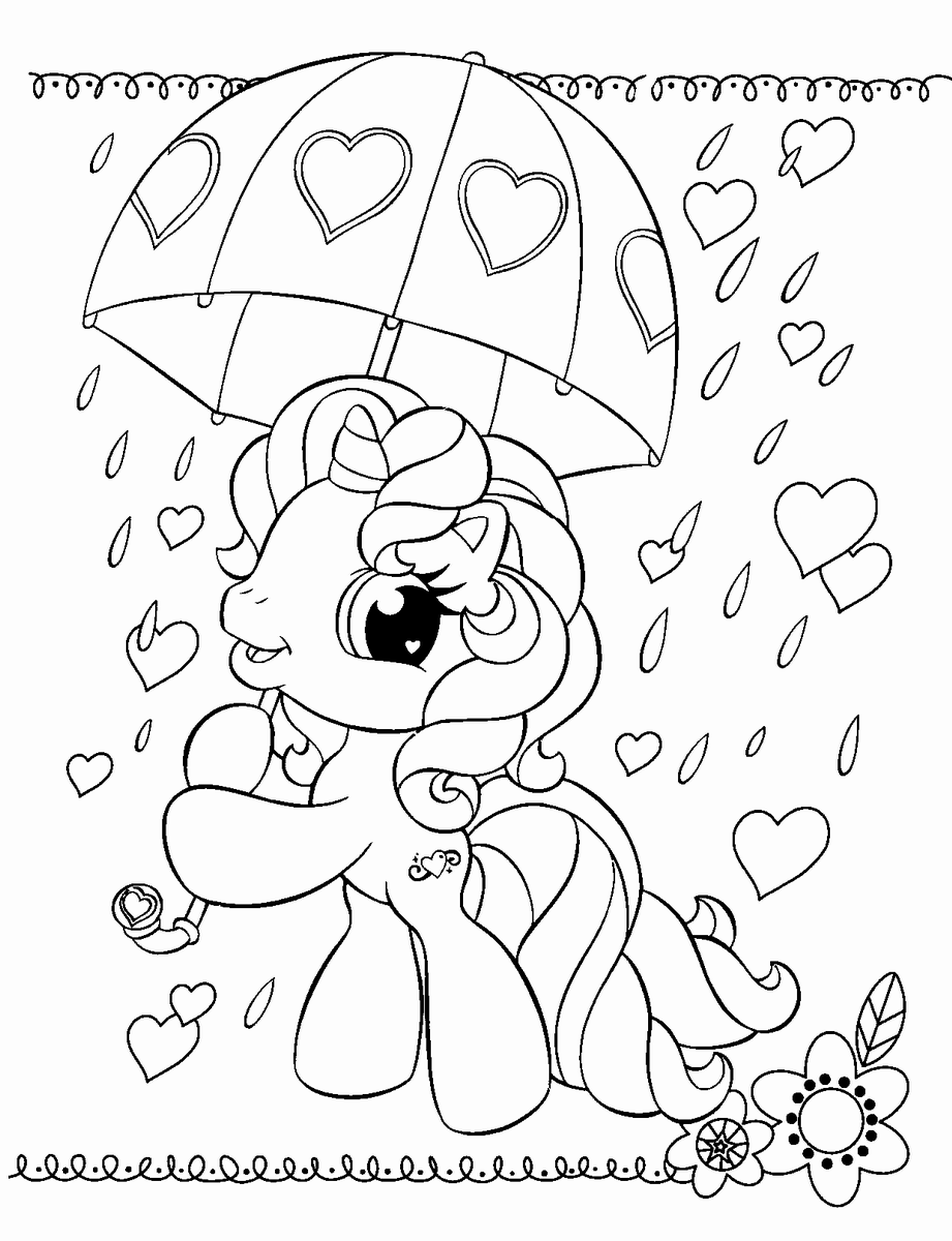my little pony pictures free printable my little pony coloring pages for kids pony my little pictures