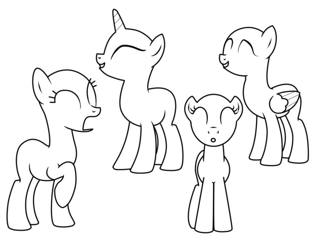 my little pony template mylittleponymalefillybodyblanktemplatespreadjpg template my pony little