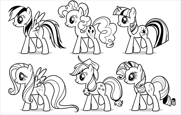 my little pony template pinkie pie my little pony coloring pages dengan gambar my pony little template