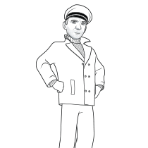 navy sailor coloring pages coloring pages october 2011 sailor pages coloring navy