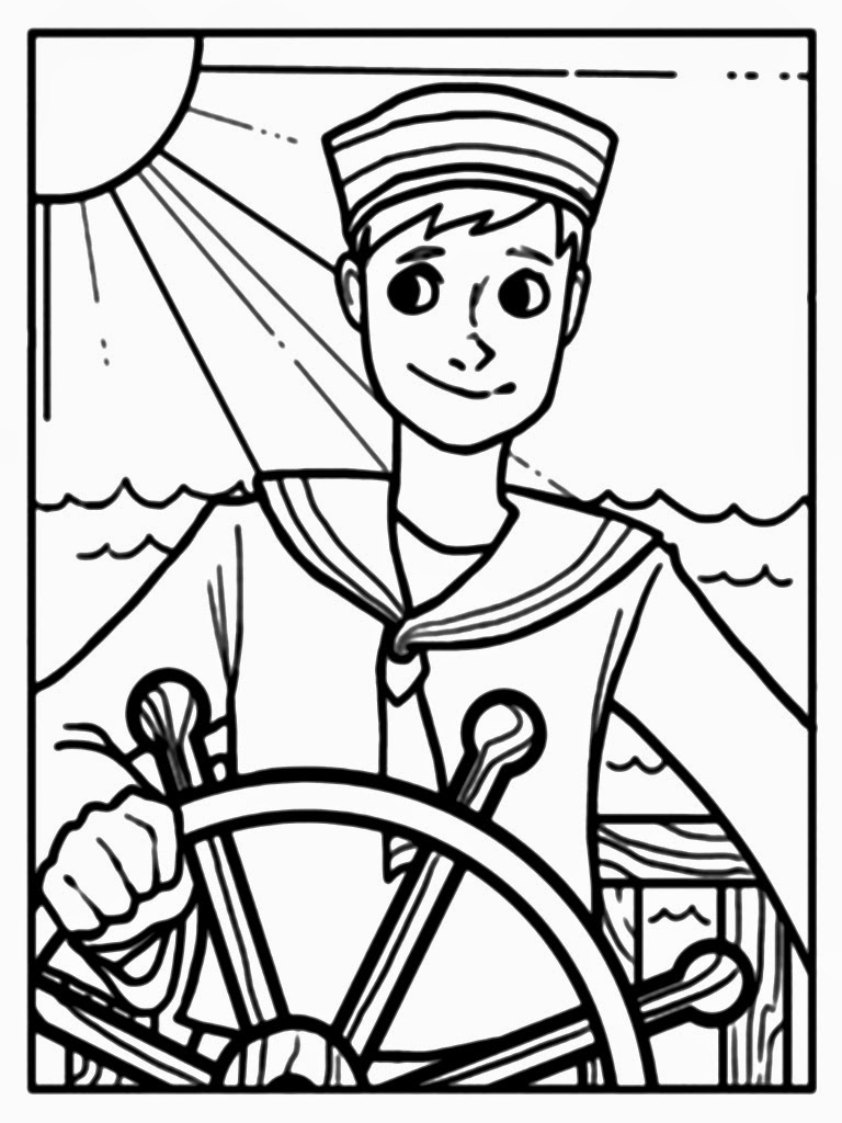 navy sailor coloring pages navy sailor coloring page coloring pages coloring navy sailor pages