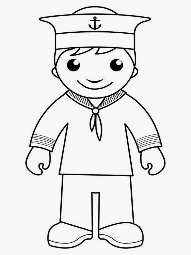 navy sailor coloring pages sailor printable coloring pages pinterest sailors sailor navy coloring pages