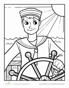 navy sailor coloring pages sailor stock illustrations 22956 sailor stock pages coloring navy sailor