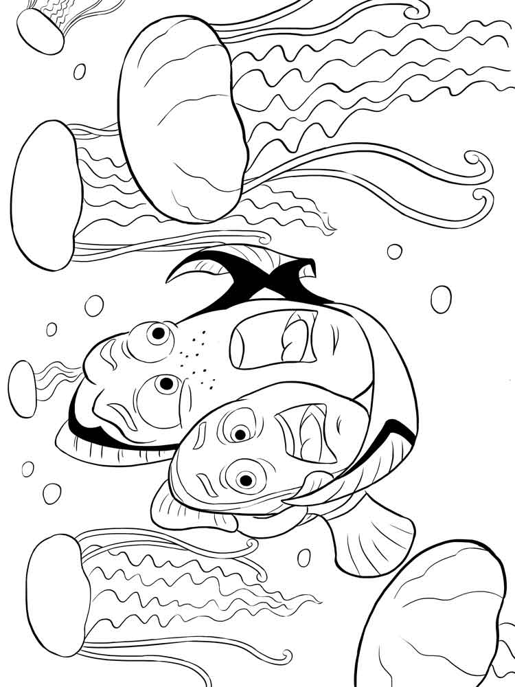 nemo coloring pages finding nemo coloring pages for kids free printable nemo coloring pages