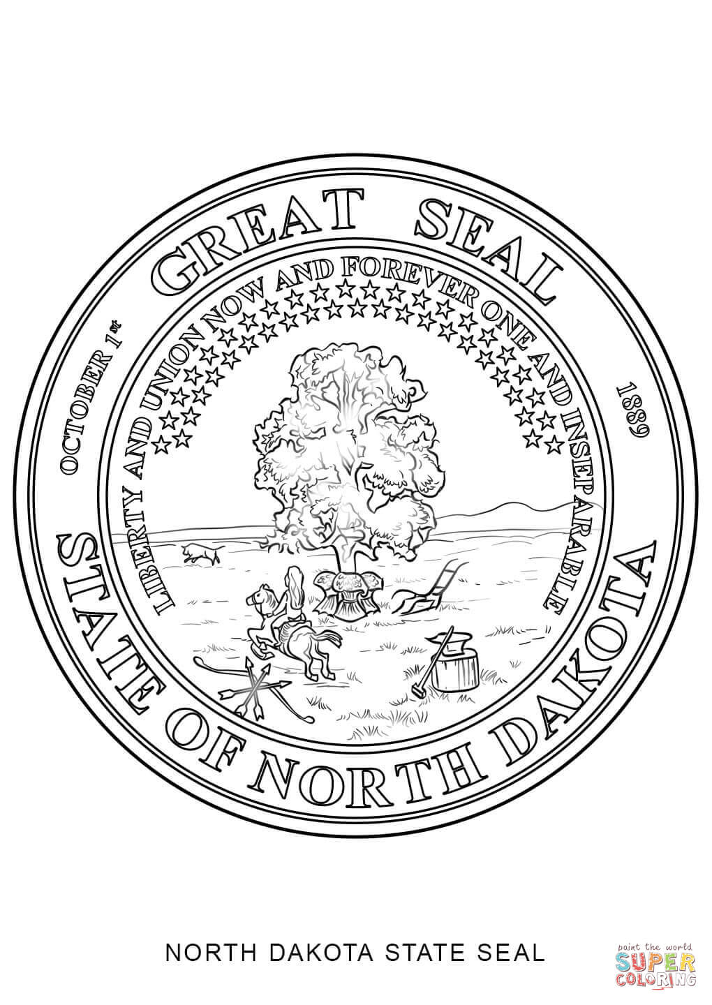 new jersey state seal coloring page awesome north dakota state seal coloring page top free seal state jersey new coloring page