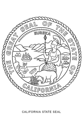new jersey state seal coloring page california state seal coloring page free printable coloring page new state seal jersey