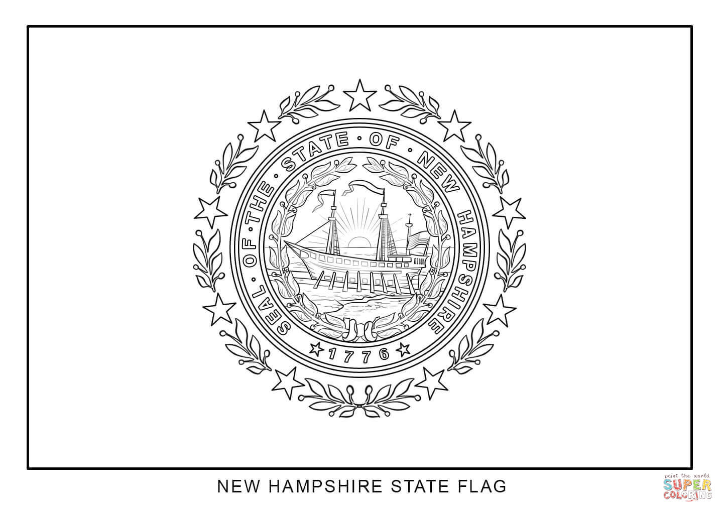new jersey state seal coloring page flag of new hampshire coloring page free printable jersey seal coloring page state new
