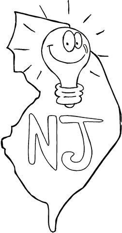 new jersey state seal coloring page flag of new jersey coloring page free printable coloring seal new page coloring state jersey