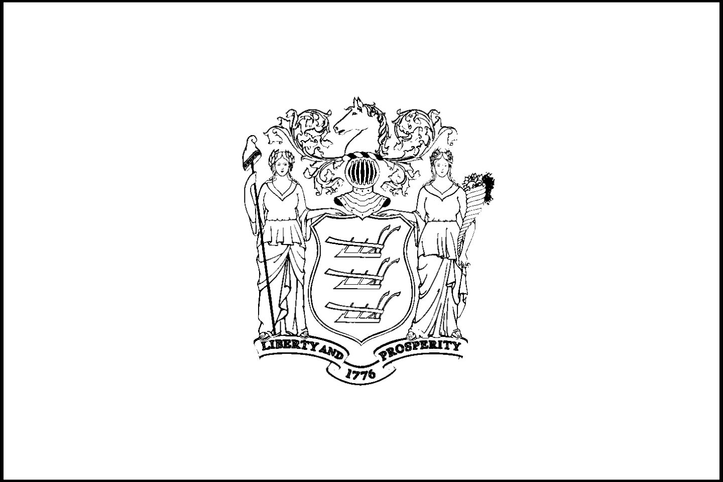 new jersey state seal coloring page new jersey drawing at getdrawings free download seal new state jersey coloring page