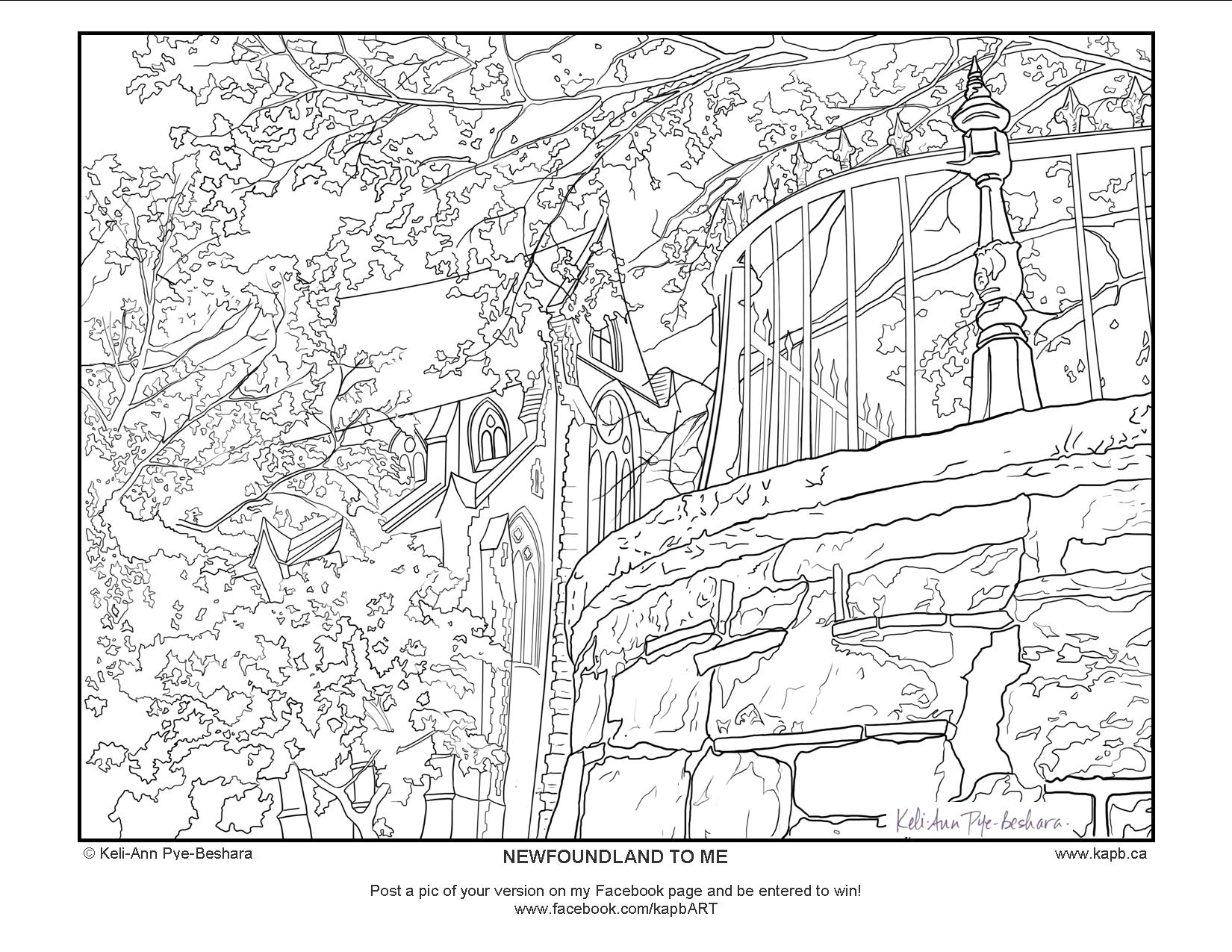 newfoundland flag coloring page download newfoundland coloring for free designlooter coloring newfoundland flag page