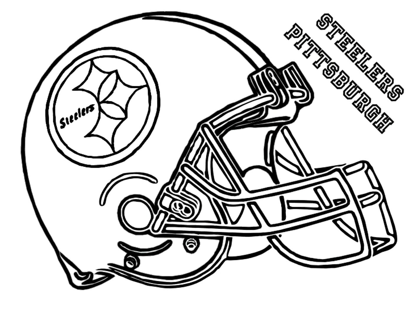 nfl coloring sheets football helmets nfl helmet coloring pages at getcoloringscom free helmets sheets football nfl coloring