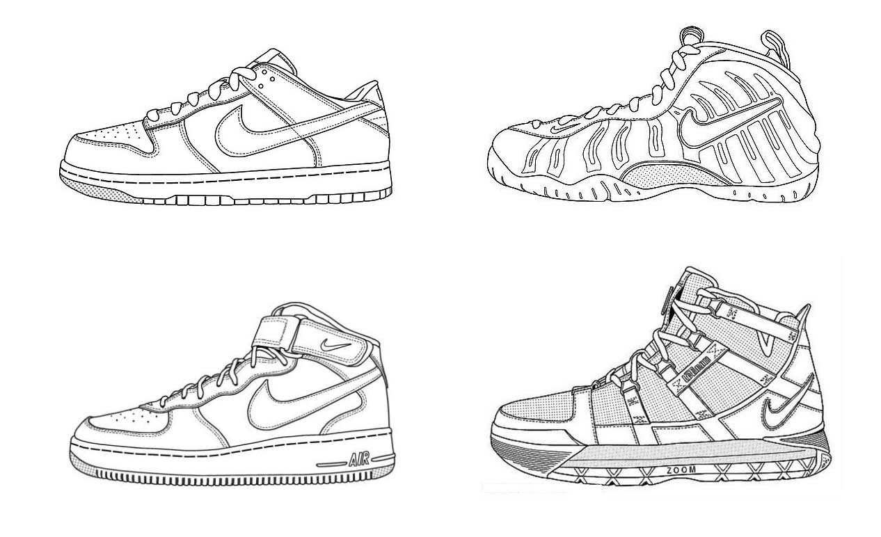 nike coloring pages nike coloring pages coloring home coloring nike pages 1 1