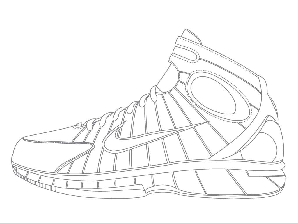 nike coloring pages nike shoes coloring pages coloring home coloring nike pages