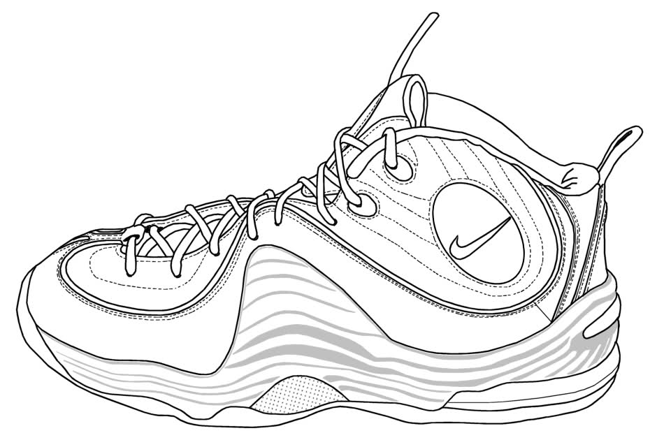 nike coloring pages nike sneakers coloring page free printable coloring pages nike coloring pages