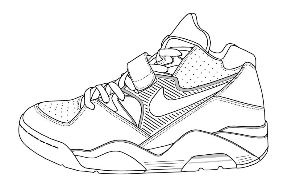 nike coloring pages sketches of nike shoes coloring pages coloring pages nike