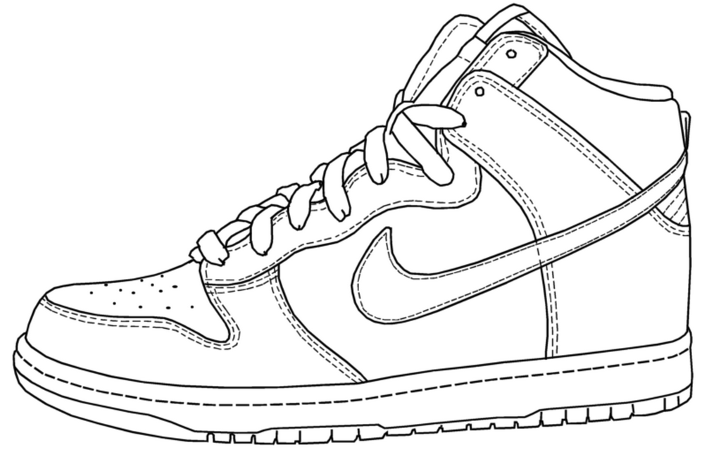 nike coloring pages the best free nike coloring page images download from 181 nike coloring pages