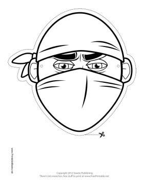 ninja mask coloring pages ninja mask coloring coloring pages ninja pages coloring mask