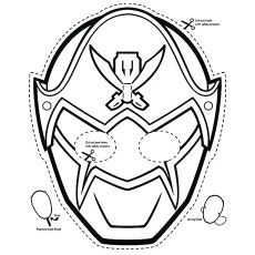 ninja mask coloring pages ninja turtle printable mask clipart best pages ninja mask coloring