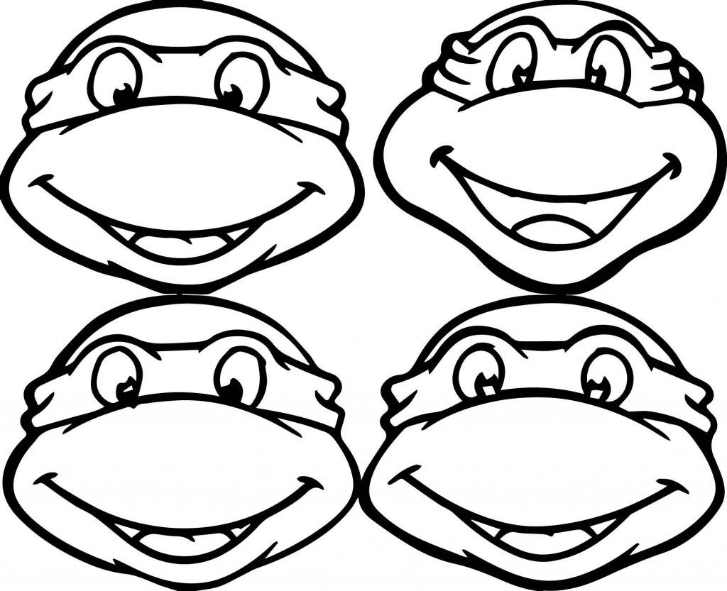 ninja mask coloring pages teenage mutant ninja turtles coloring pages best mask coloring ninja pages