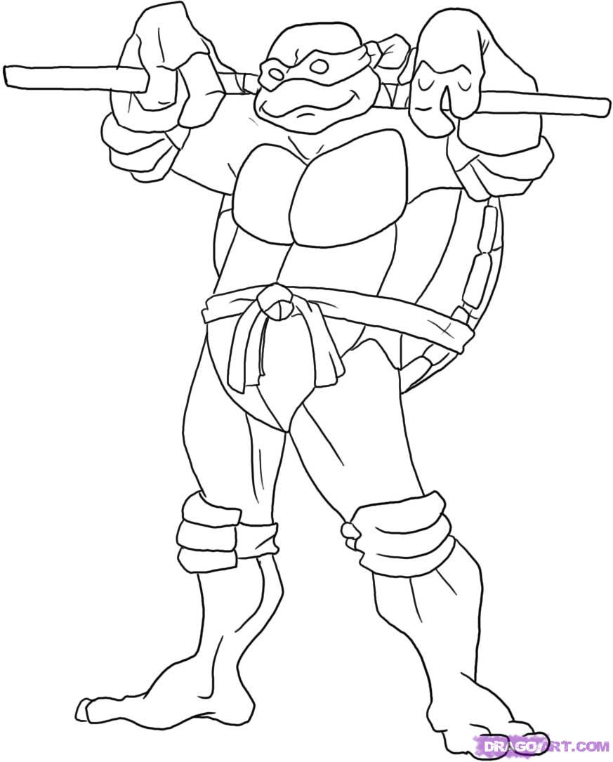 ninja turtles pictures to print ninja turtles coloring pages from animated cartoons of pictures print turtles ninja to