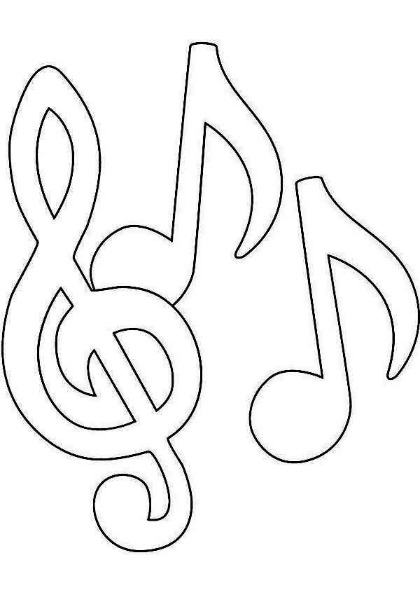 note coloring music note coloring pages kidsuki note coloring 1 1