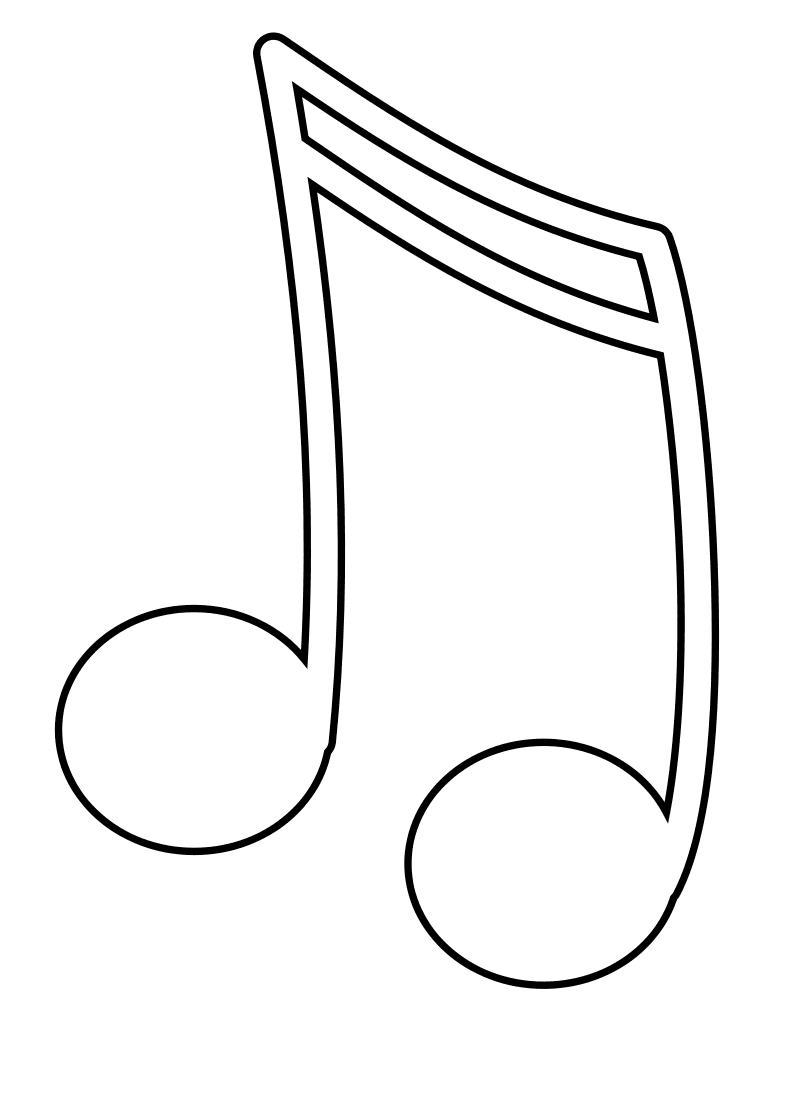 note coloring music note coloring pages to download and print for free note coloring