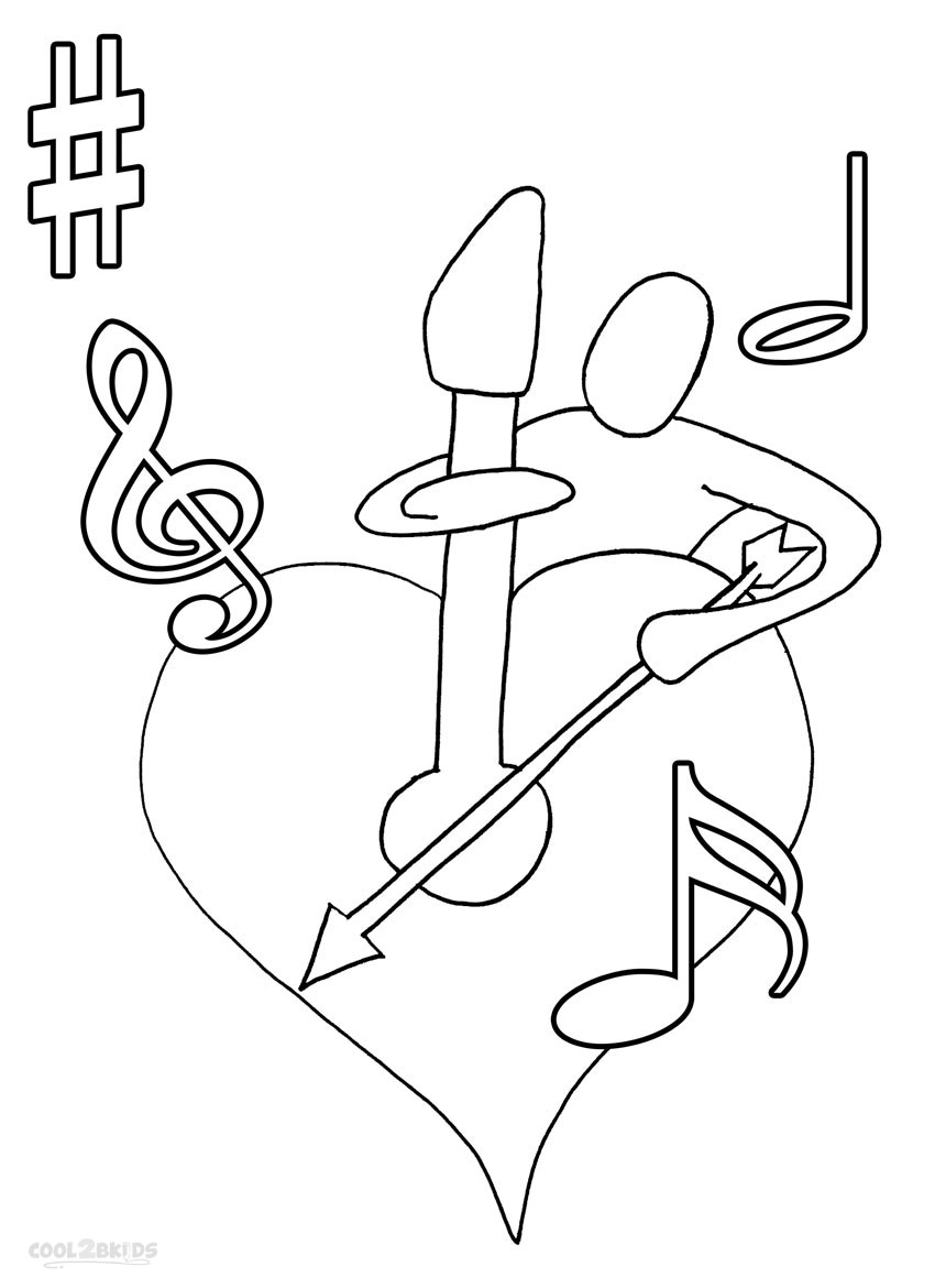 note coloring printable music note coloring pages for kids cool2bkids coloring note
