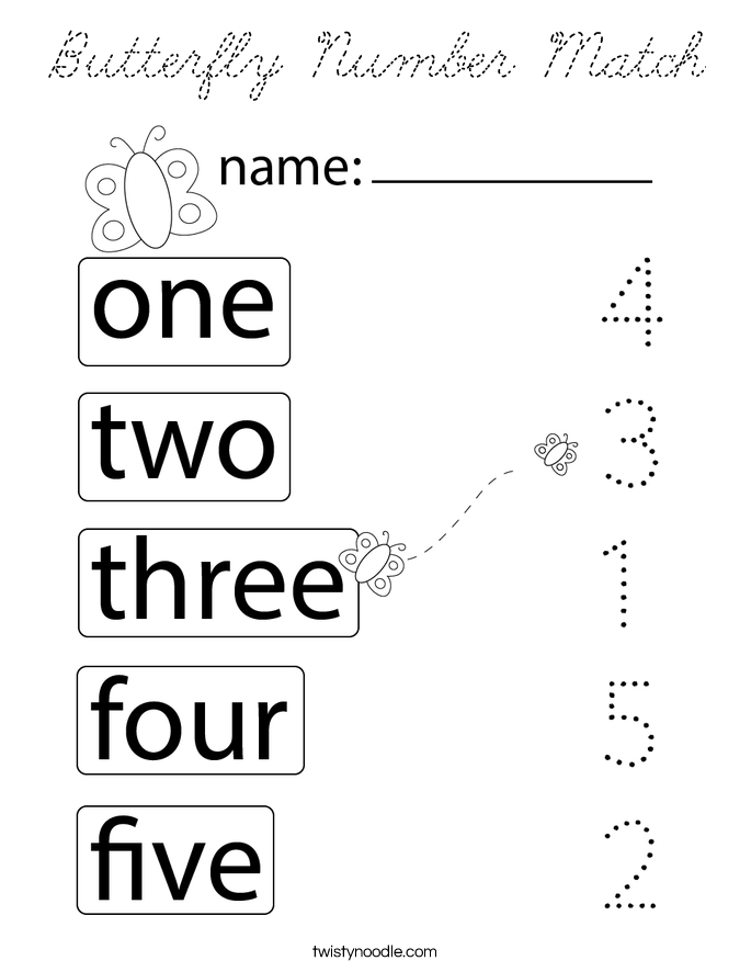 number matching coloring pages match the numbers and words coloring pages number pages coloring matching