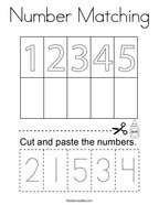 number matching coloring pages number matching 1 10 coloring page twisty noodle pages coloring matching number