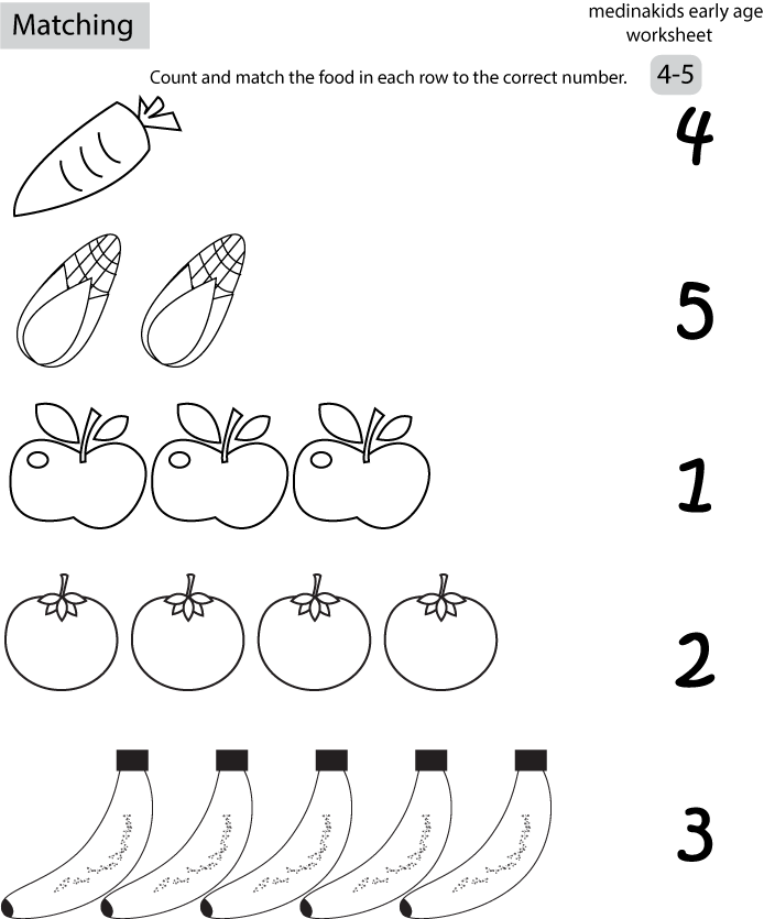 number matching coloring pages number matching for kids coloring sheets matching number pages coloring