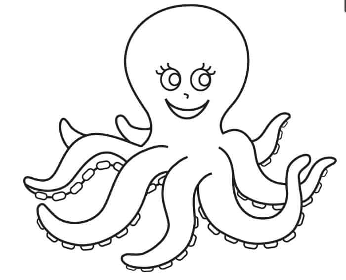 octopus coloring page octopus coloring pages kiddo page octopus coloring