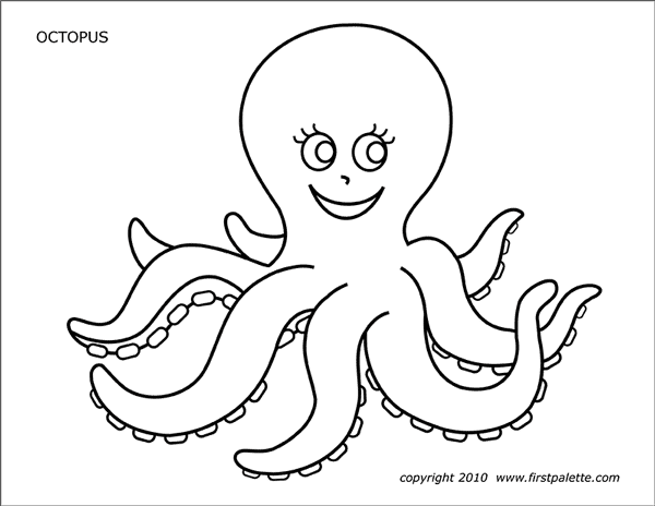 octopus coloring picture cute octopus coloring page clipart panda free clipart picture octopus coloring
