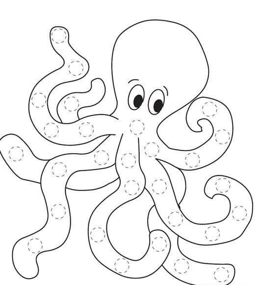 octopus coloring picture free printable octopus coloring pages for kids picture coloring octopus