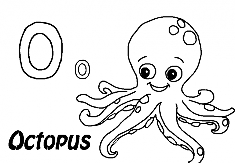 octopus coloring picture kids drawing of an octopus coloring page easy drawing of coloring octopus picture