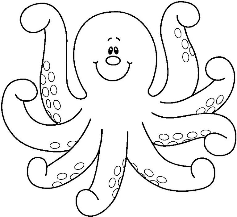 octopus coloring picture realistic octopus coloring page giant pacific octopus octopus picture coloring