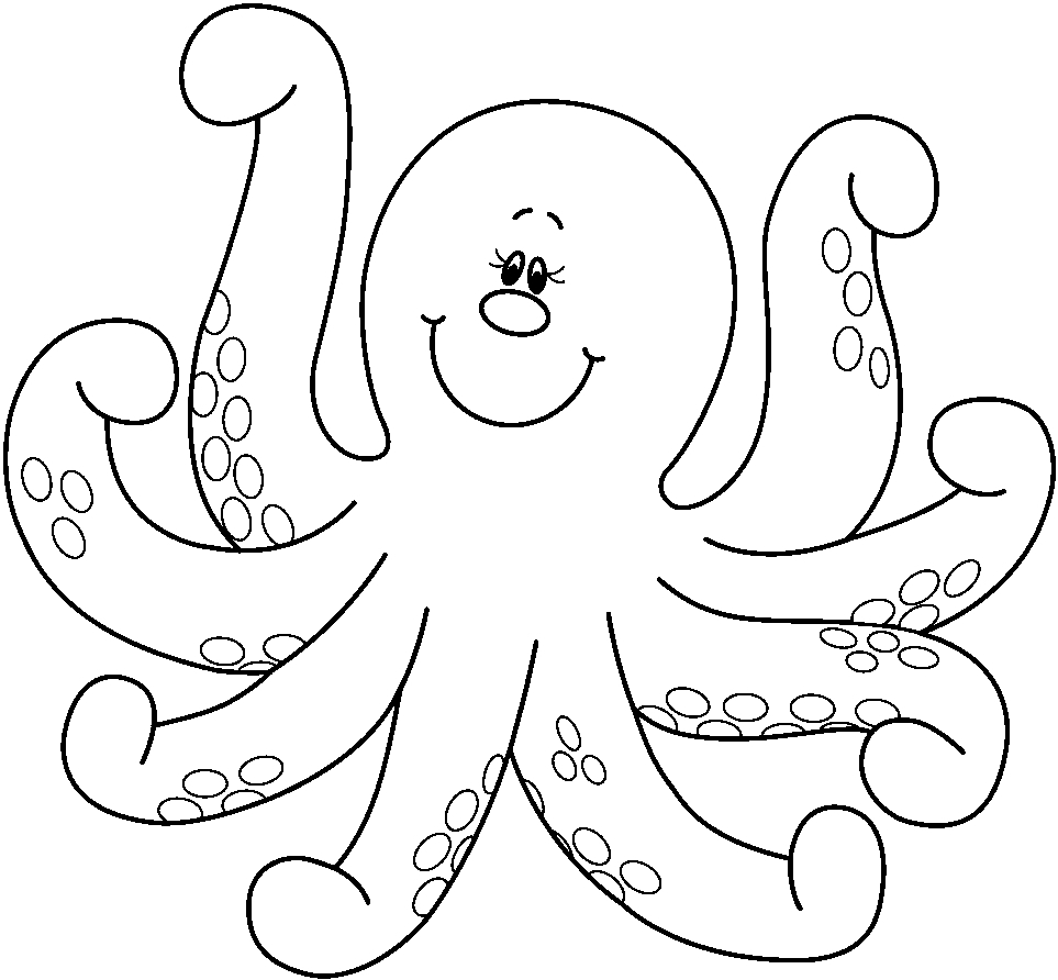 octopus pictures for coloring free printable octopus coloring pages for kids coloring for pictures octopus 1 1