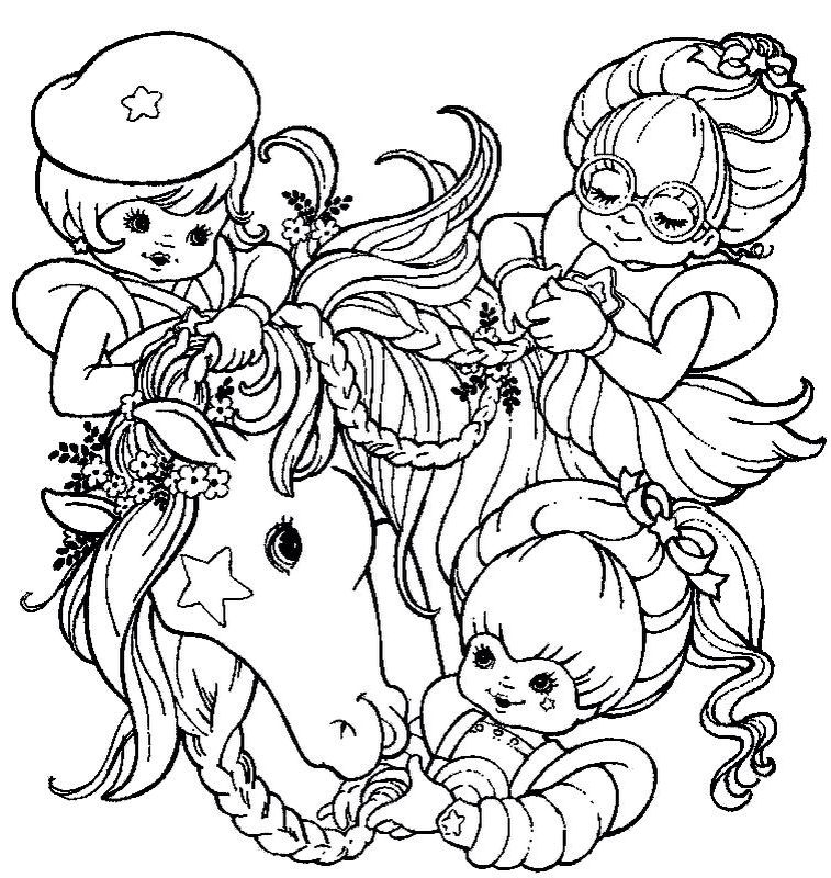 old cartoon coloring pages colorir e pintar strawberry shortcake coloring pages old pages cartoon coloring