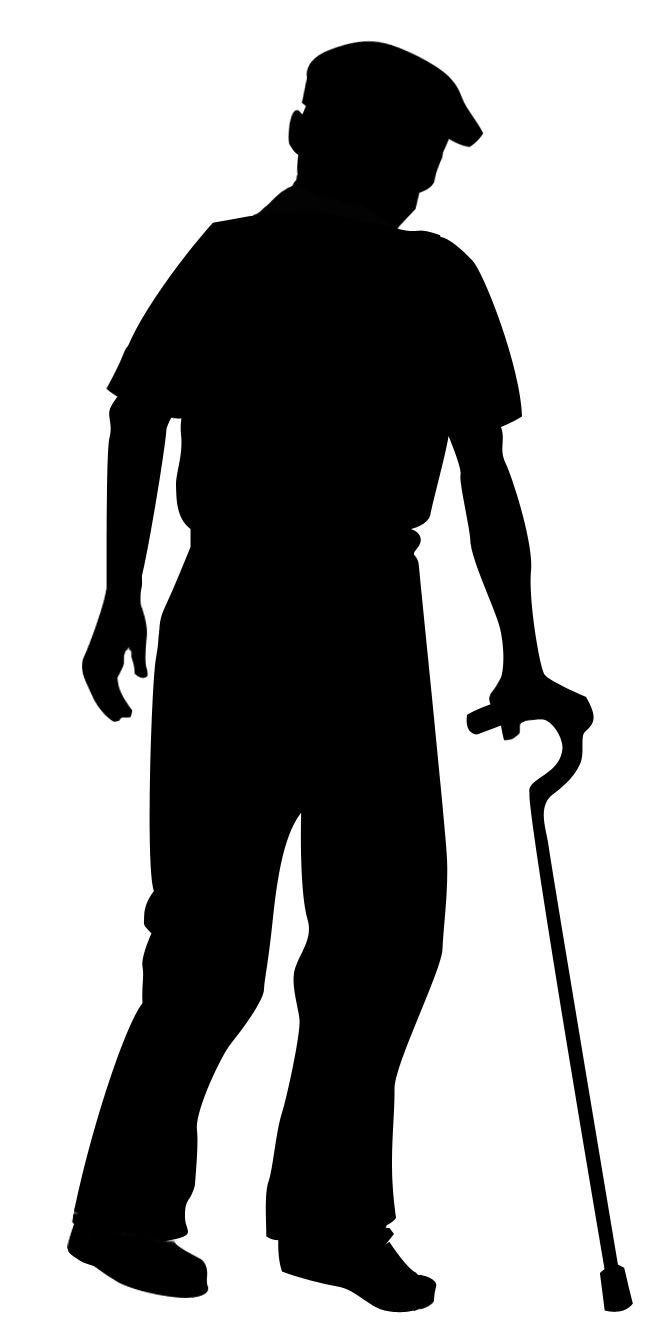 old man silhouette 10 elderly old person silhouette png transparent silhouette old man