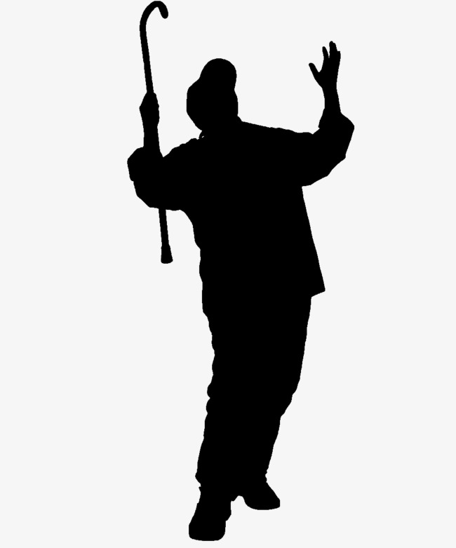 old man silhouette 10 elderly old person silhouette png transparent silhouette old man 1 1