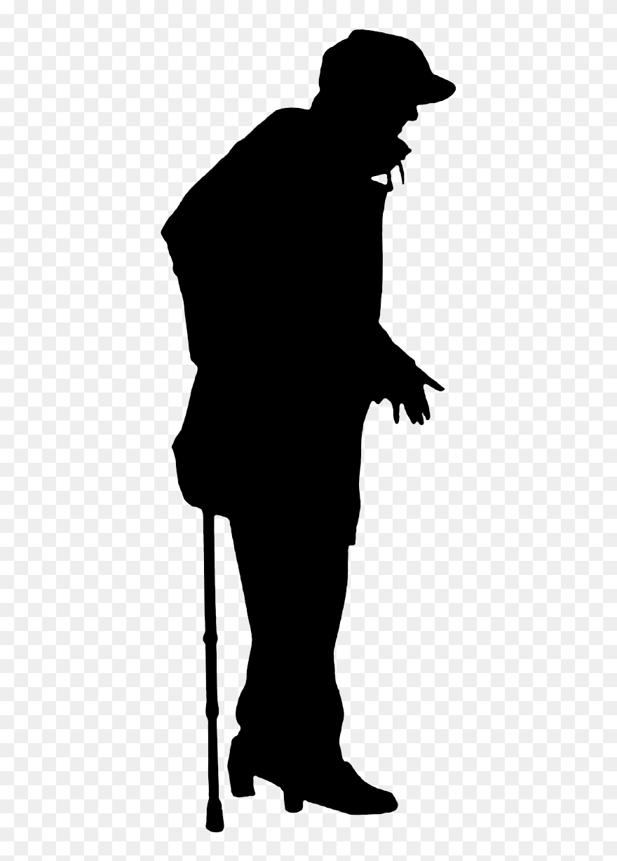 old man silhouette old age silhouette illustration old man silhouette png man silhouette old