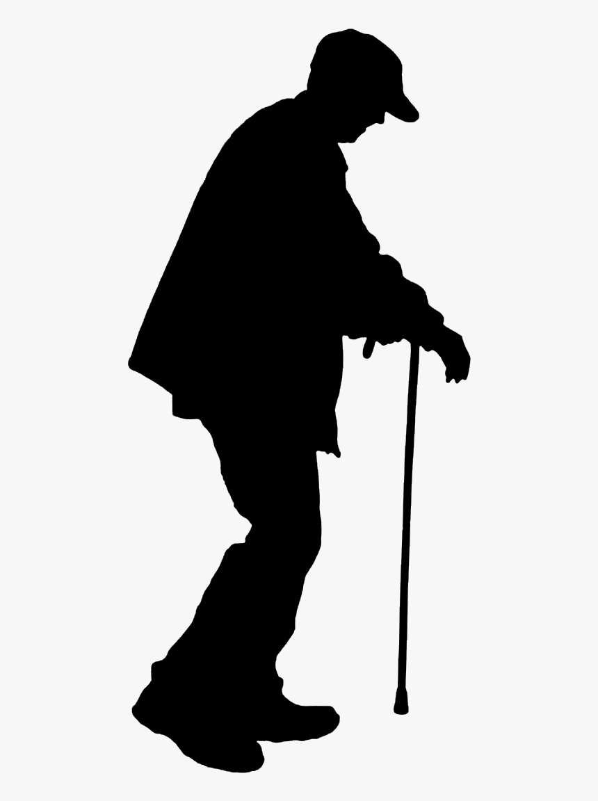 old man silhouette old man silhouette google search mensen man old silhouette