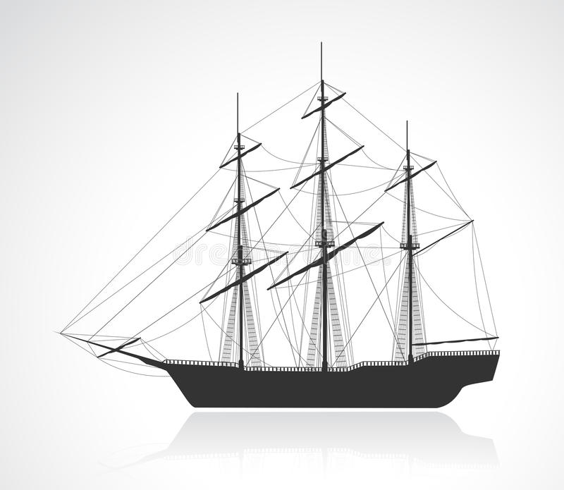old ship silhouette boat sailing ship transportation old silhouette boat ship silhouette old